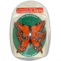 Decorative Butterfly Clips - Pack of 2 - Various Colours