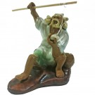 Chinese Fisherman Bonsai Figurine - Plenitude Range - Design 1