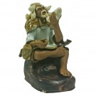 Chinese Fisherman Bonsai Figurine - Harmony Range - Design 2