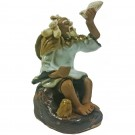 Chinese Fisherman Bonsai Figurine - Harmony Range - Design 3