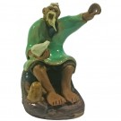 Chinese Fisherman Bonsai Figurine - Harmony Range - Design 6