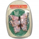 Decorative Butterfly Clips - Pack of 2 - Pink