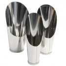 Soil Scoop Set - 3 Stainless Steel Scoops