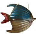 Ceramic Fish Wall Decoration 34cm x 27cm