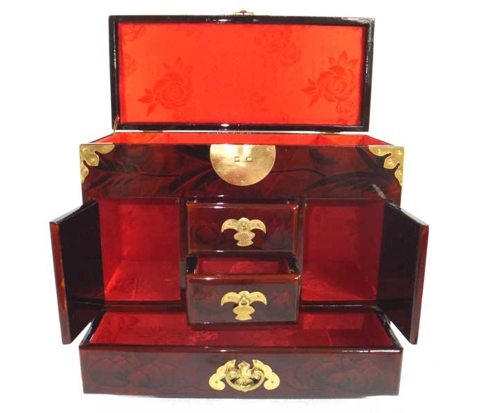 Large Chinese Jewellery Box Oriental Gifts From Got Bonsai
