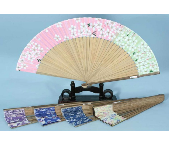 Japanese Fan Stand : Japanese fan floral designs oriental gifts from got