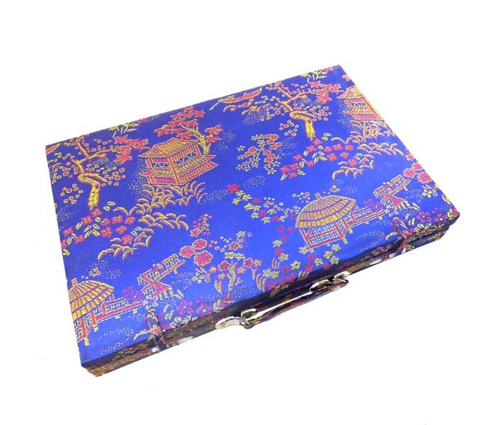 Large Mahjong Set In Brocade Box Oriental Gifts From Got