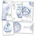 Chinese New Year Cards - Porcelain Designs - Pack of 5