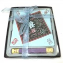 Incense Gift Set with Ceramic Tray - Double Happiness Design
