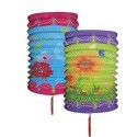 Chinese Festival Lanterns - 10 Pack - Flowers Designs