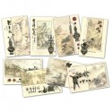 Chinese New Year Cards - Gold Embossed - Pack of 8