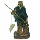 Chinese Fisherman Bonsai Figurine - Harmony Range - Design 10