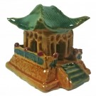 Japanese Temple / Pagoda Bonsai Ornament - Design 3