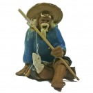 Chinese Fisherman Bonsai Figurine - Harmony Range - Design 8