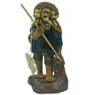 Chinese Fisherman Bonsai Figurine - Harmony Range - Design 9