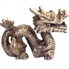 Chinese Golden Dragon Ornament - 9cm
