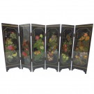Singing Birds and Fragrant Flowers - Tabletop Screen