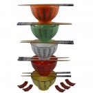 Chinese Rice Bowl Gift Set - Kanji Designs