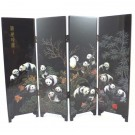 Chinese Giant Panda Design Tabletop Screen