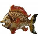 Ceramic Fish Wall Decoration 39cm x 30cm