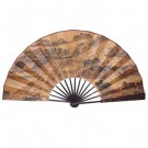 60cm Quality Large Chinese Fan - Qingming Festival Scene