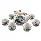 Traditional Chinese Tea Set - Panda Design