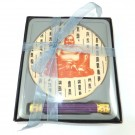 Incense Gift Set with Ceramic Tray - Chinese Buddha Design