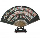 100 Masks Design Hand Fan with Stand - Gift Boxed