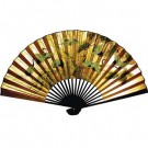 70cm Chinese Wall Fan - Cranes and Pines