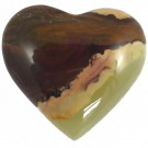 Gemstone Heart - 4cm Average
