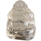 Crystal Ornament Buddha - Clear