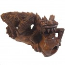 Chinese Dragon Wooden Carving 30cm Long