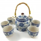 Chinese Tea Set - Peony Design