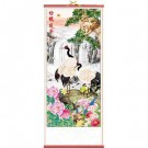 Lush Landscape Hanging Chinese Wall Scroll
