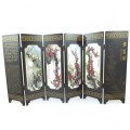 The Spring Herald - Chinese 6 Panel Tabletop Screen