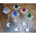 Crystal Rose - Freestanding - in various colours
